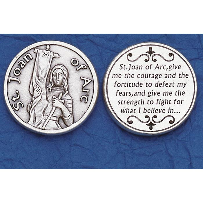 Italian Token - St Joan of Arc