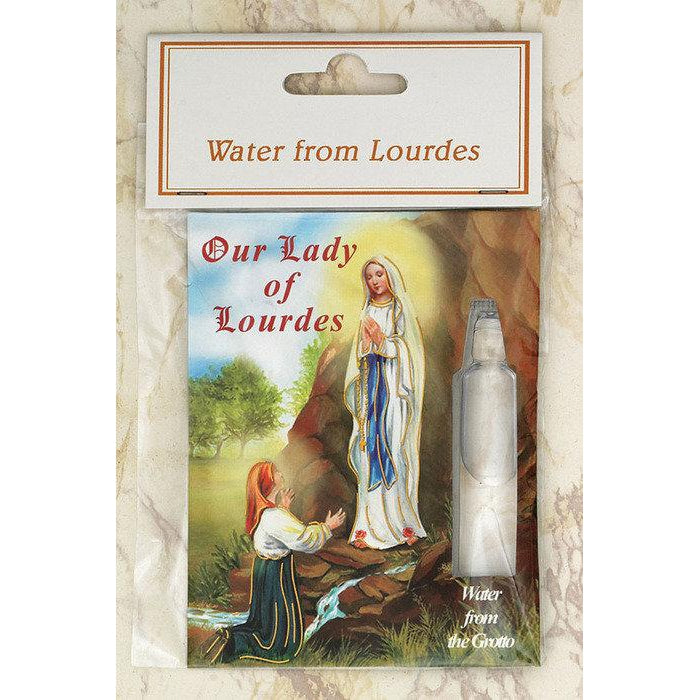 Water from Lourdes - Pack  of 12