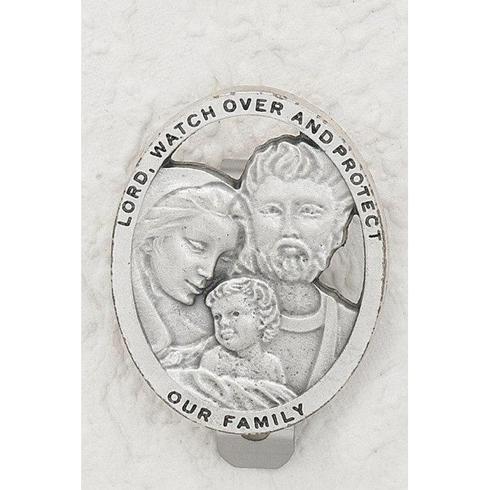 Holy Family - Visor Clip - Pack of 3