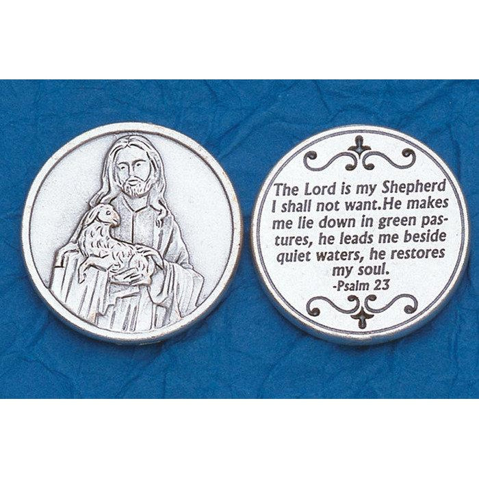 Italian Token - The Lord is my Shepherd Psalm 23