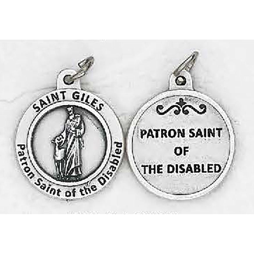 Healing Saint - St Giles Medal - 4 Options