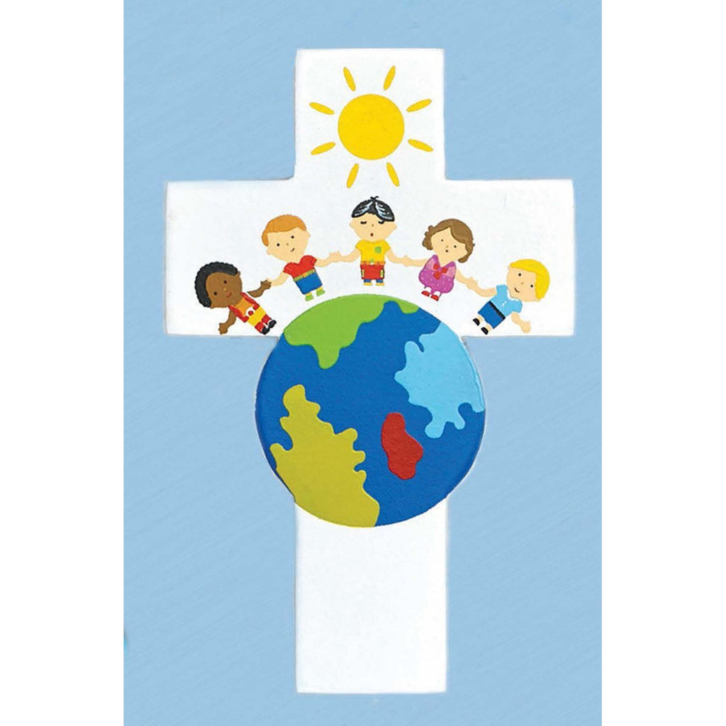 Light of the World Small Children of the World Cross - Pack of 6