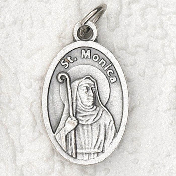 St. Monica Pry for Us Medal - 4 Options