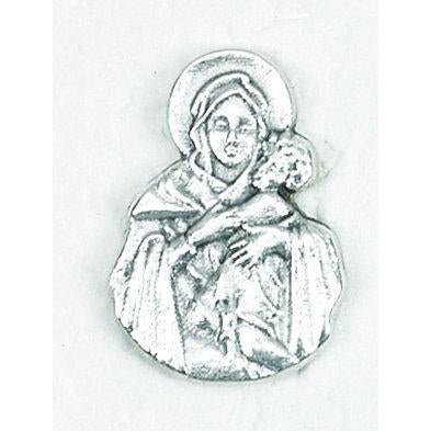 Mary and Jesus Silhouette Medal - 4 Options