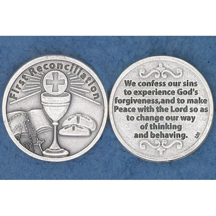 Sacrament Token - First Reconciliation - Pack of 25