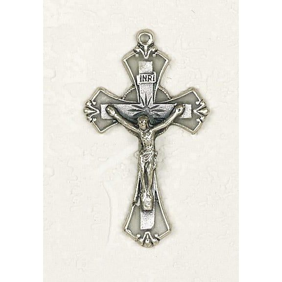 Classic Cross Silver Tone and Enamel - 32 Options