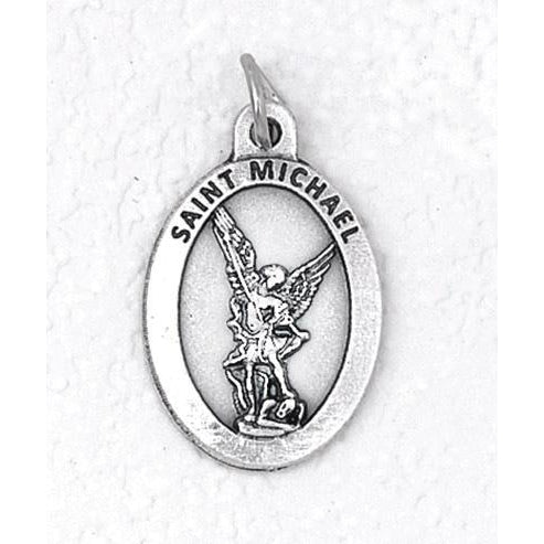 Saint Michael Premium 1 Inch Double Sided Medal - 4 Options