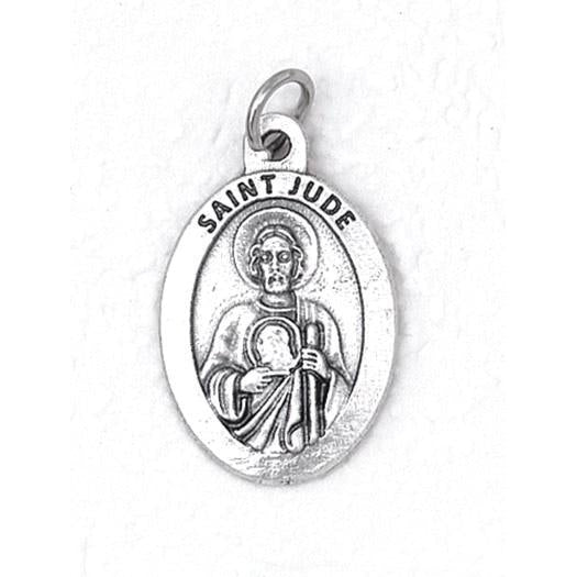 Saint Jude Premium 1 Inch Double Sided Medal - 4 Options