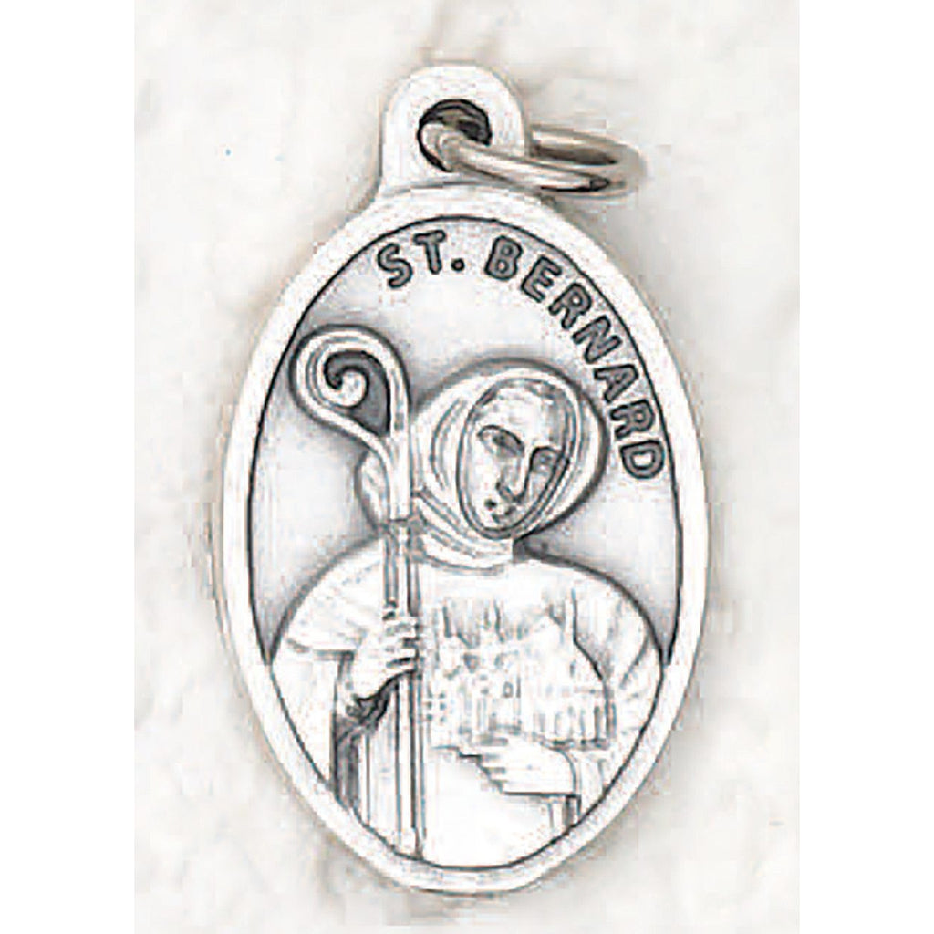 Saint Bernard Pray for us Medal - 4 Options