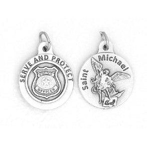 Saint Michael - Police 3/4 inch Medal - 4 Options