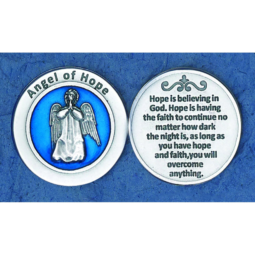 Enameled Token - Angel of Hope - Pack of 25
