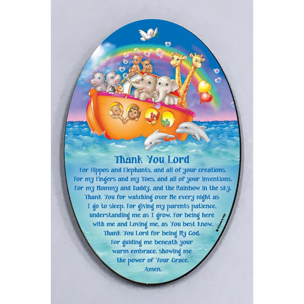 Noah's Ark Wood Wall Plaque - 2 Options