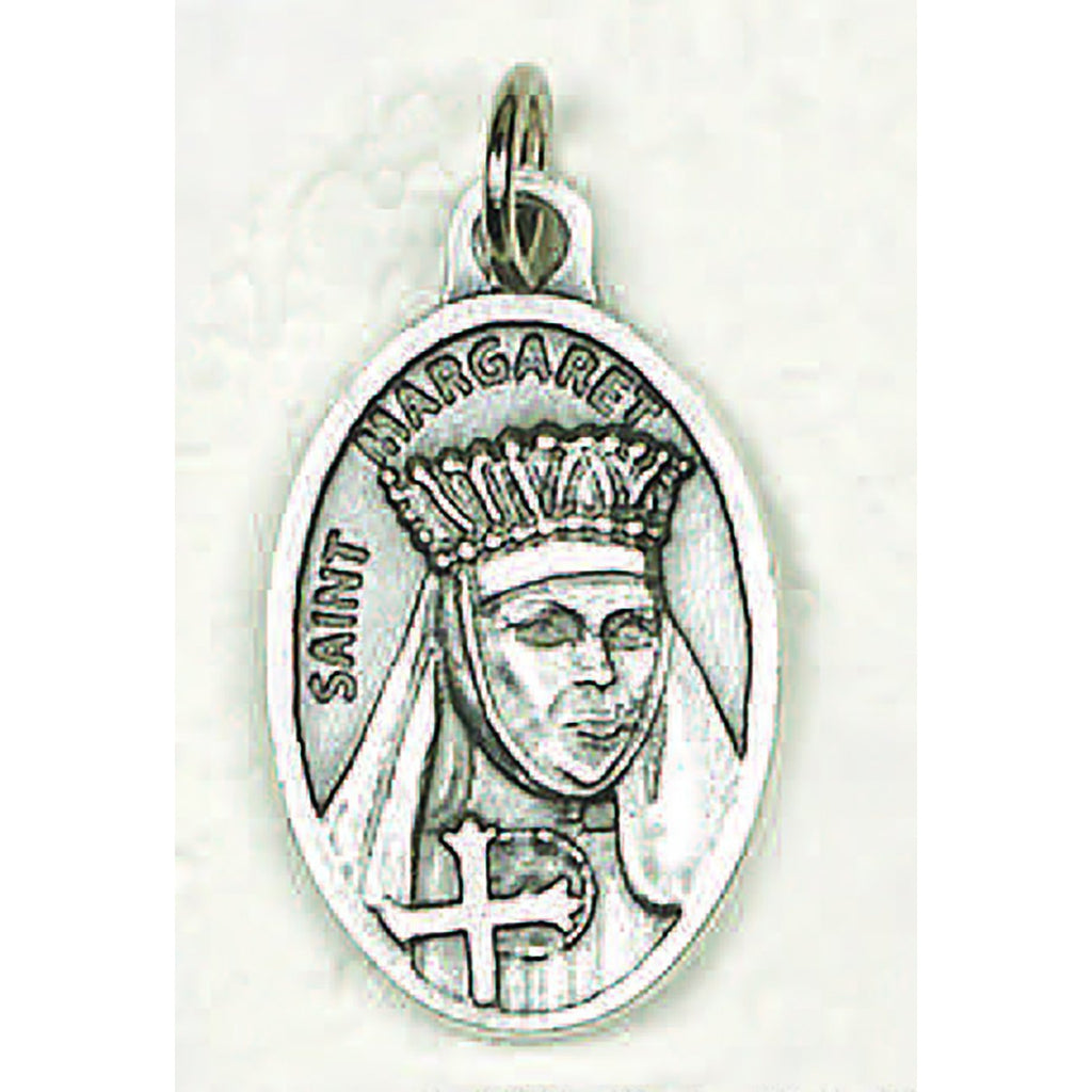 Saint Margaret Pray for Us Medal - 4 Options