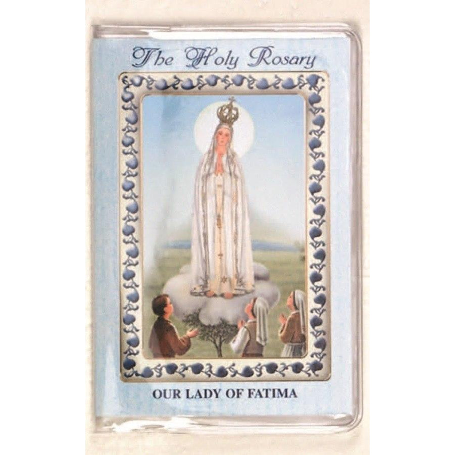 Lady of Fatima - How to Pray the Rosary Booklet