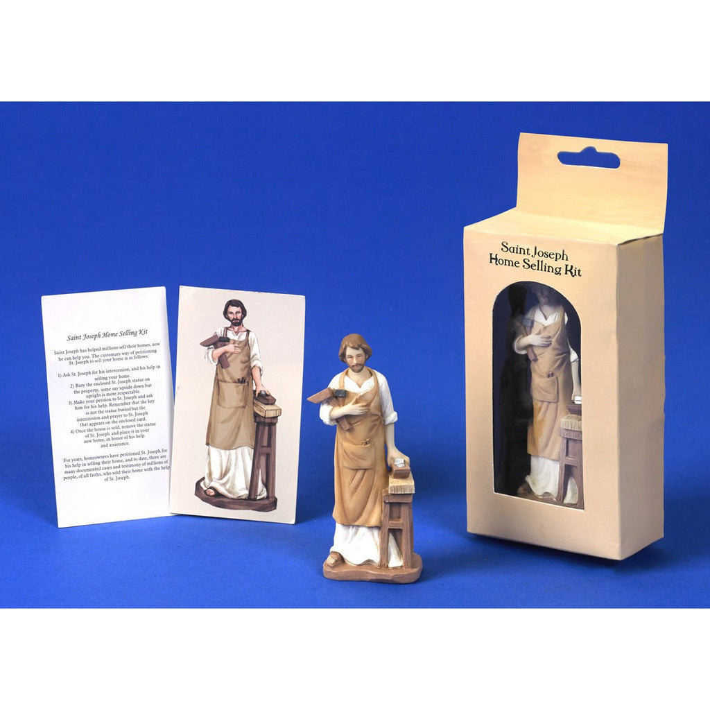 Saint Joseph Resin Home Selling Kit - Pack of 12