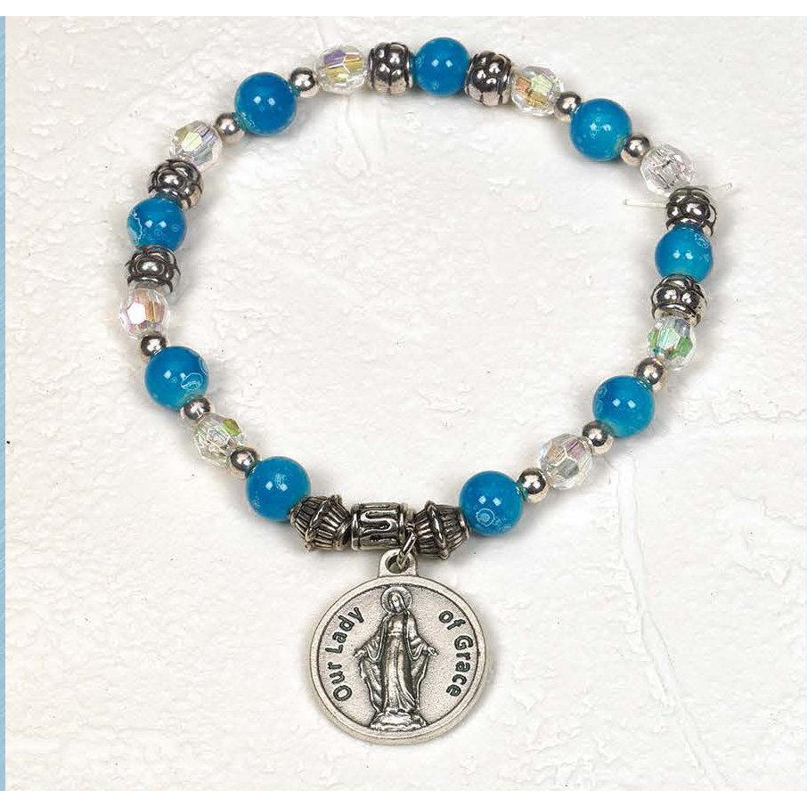 Lady of Grace - Italian Charm Bracelet - Pack of 4