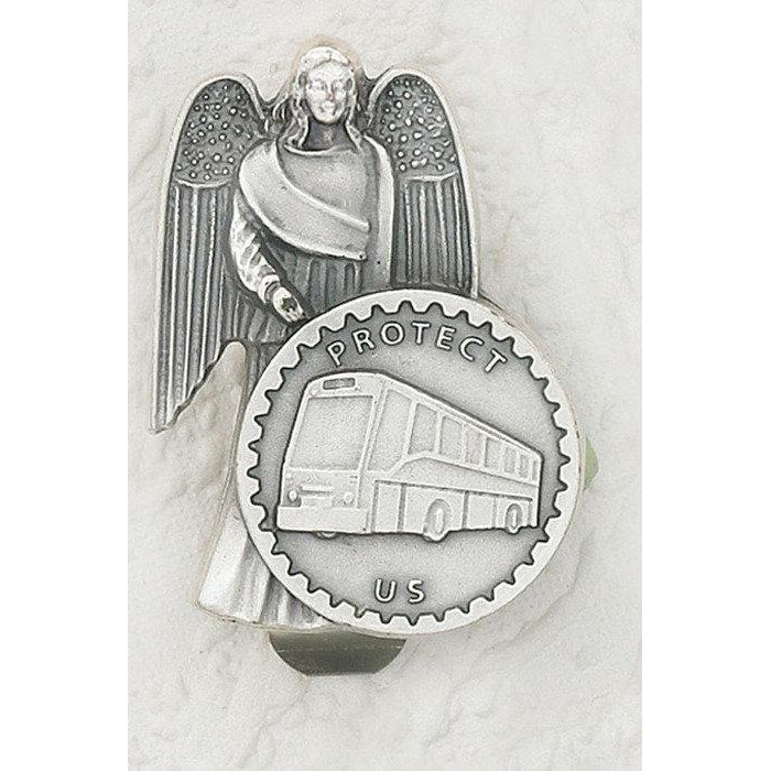 Guardian Angel with Bus - Car Visor - Pack of 3