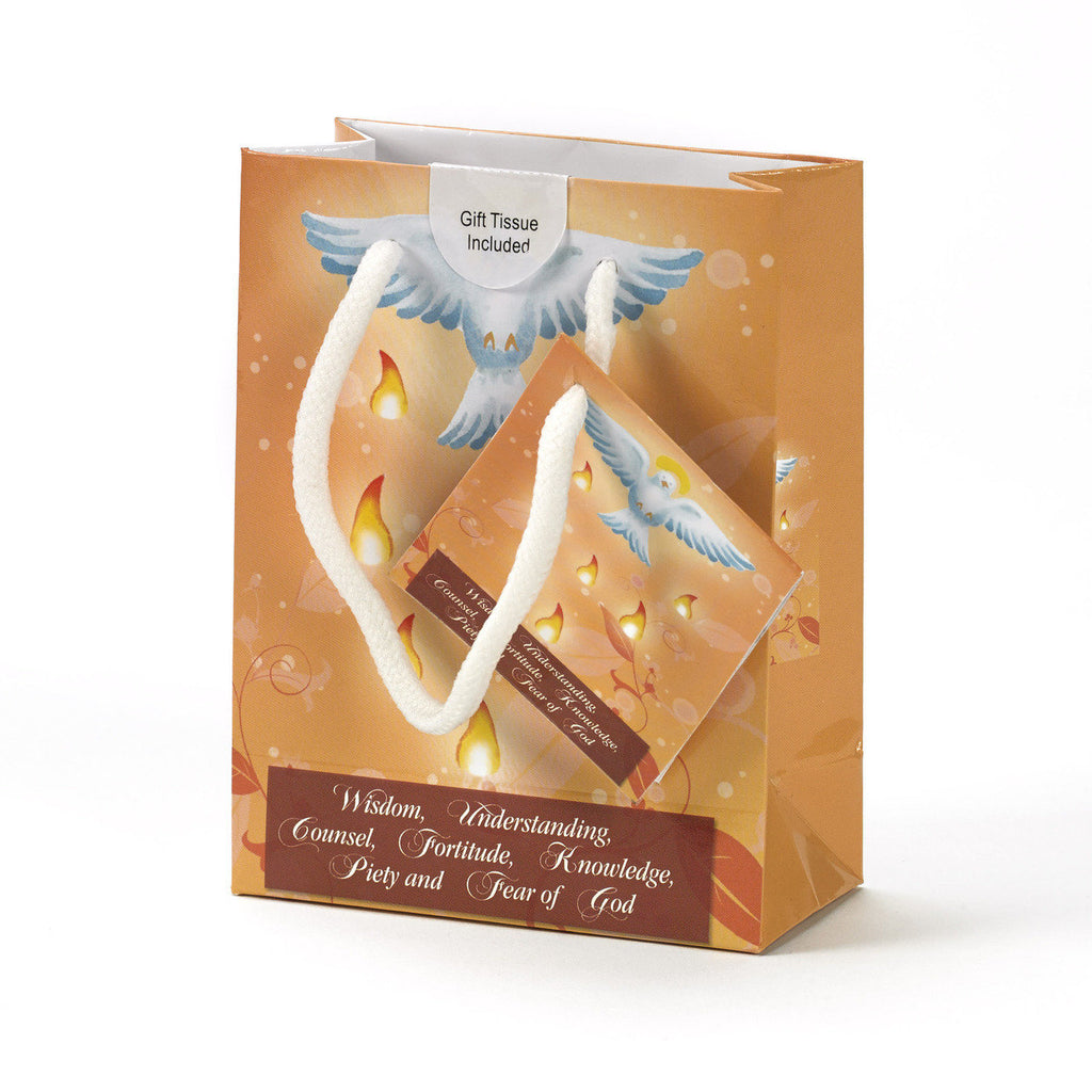 Dove and Flames Confirmation Gift Bags - Pack of 12