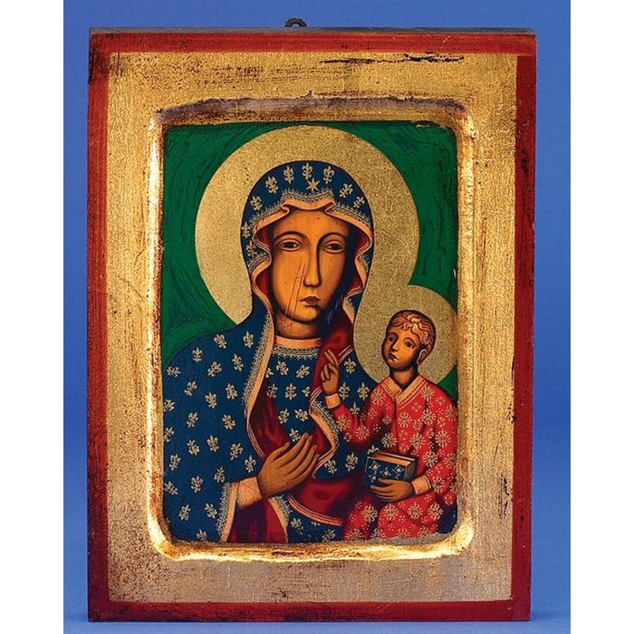 Lady of Czestochowa - Gold Leaf - 3 Sizes