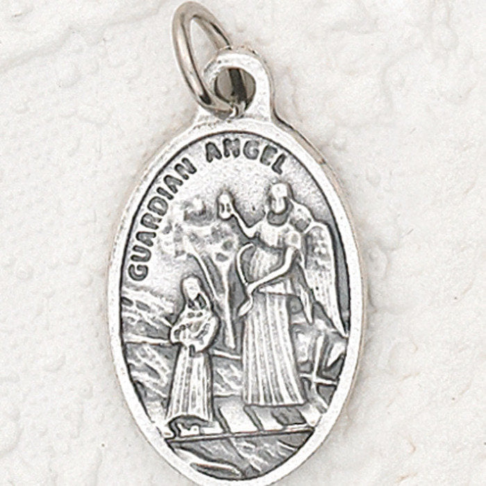 Guardian Angel Pray for Us: Medal - 4 Options