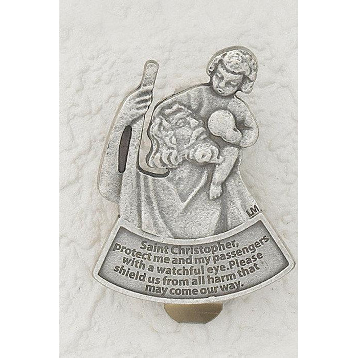 Saint Christopher- Protect Me Car Visor - Pack of 3
