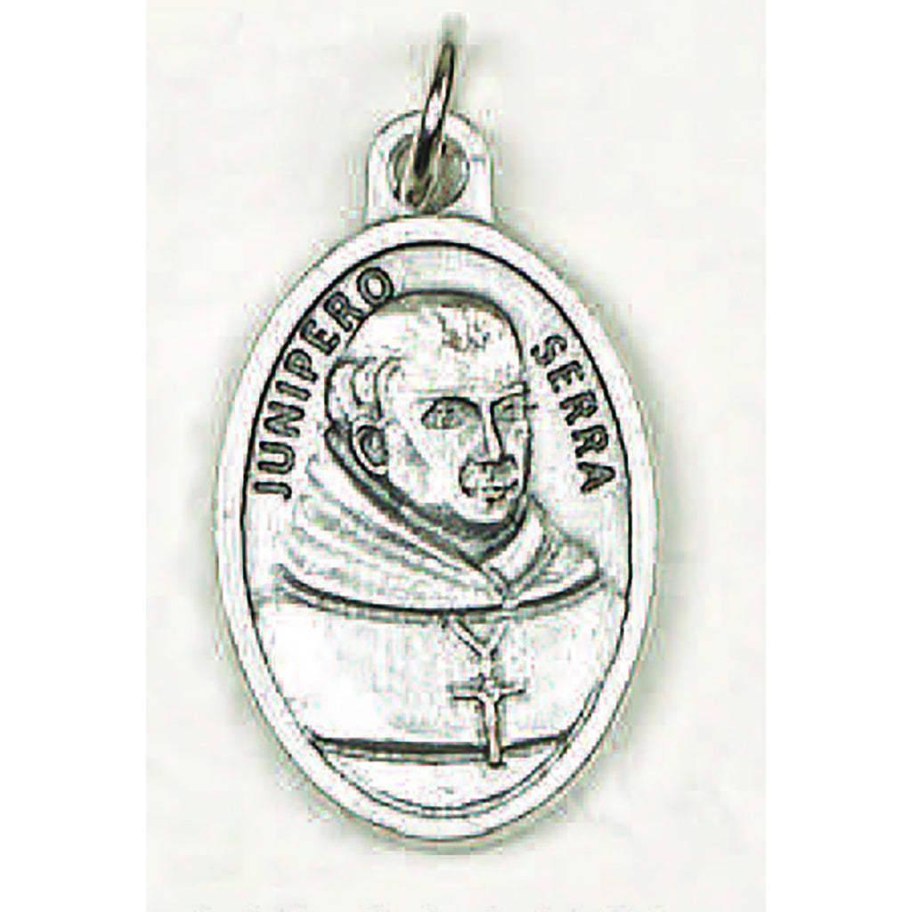 Saint Junipero Serra Pray for Us Medal - 4 Options