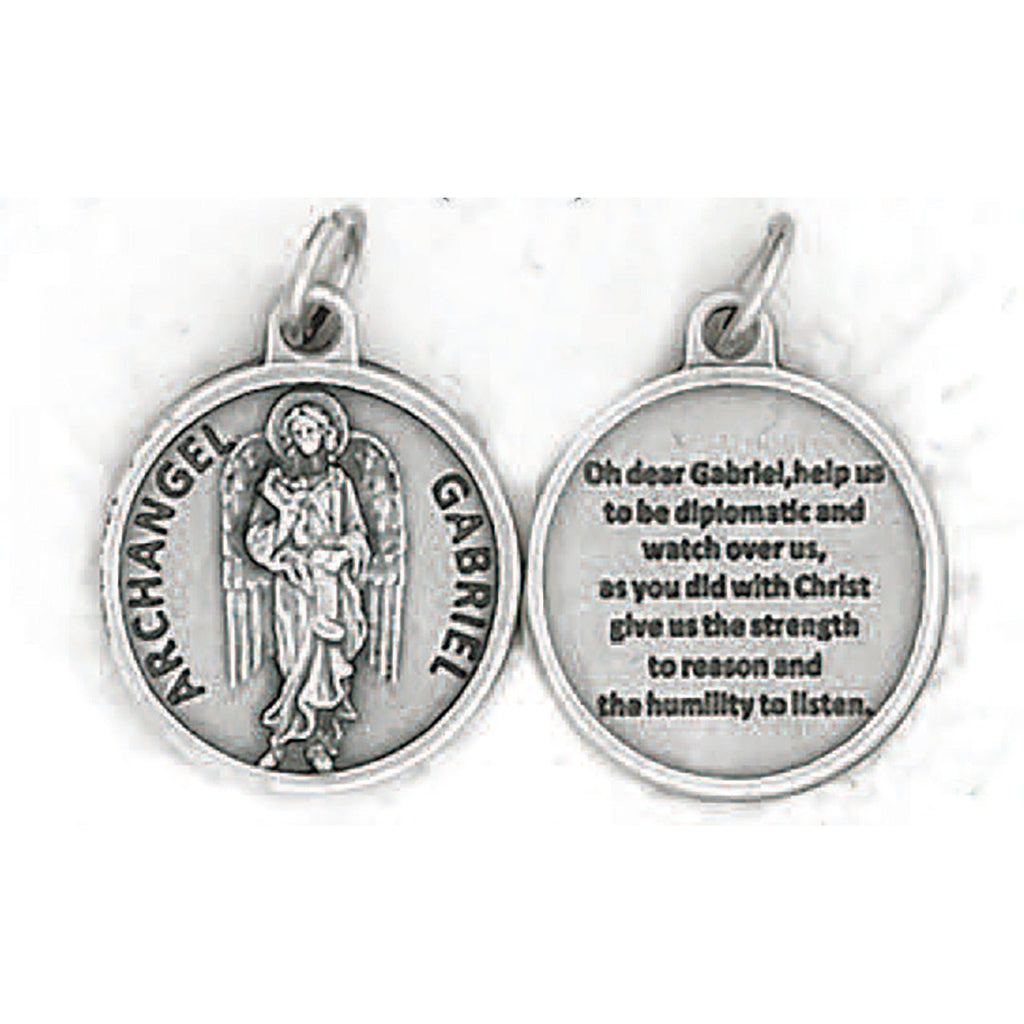 "3/4"" Medal- Archangel Gabriel - PACK OF 25"