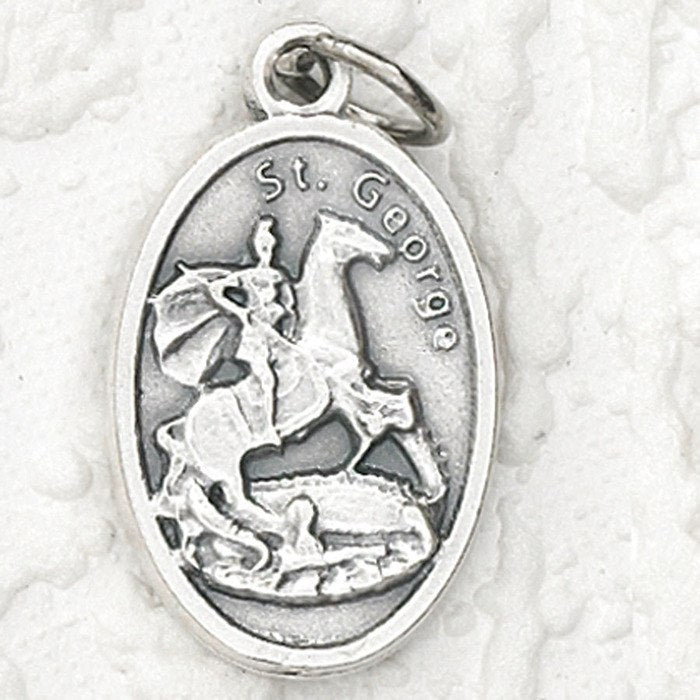 St. George Pray for Us Medal - 4 Options