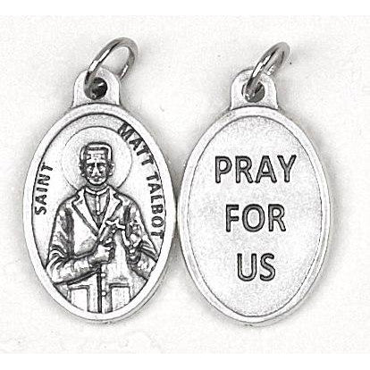 Matt Talbot Pray for Us Medal - 4 Options