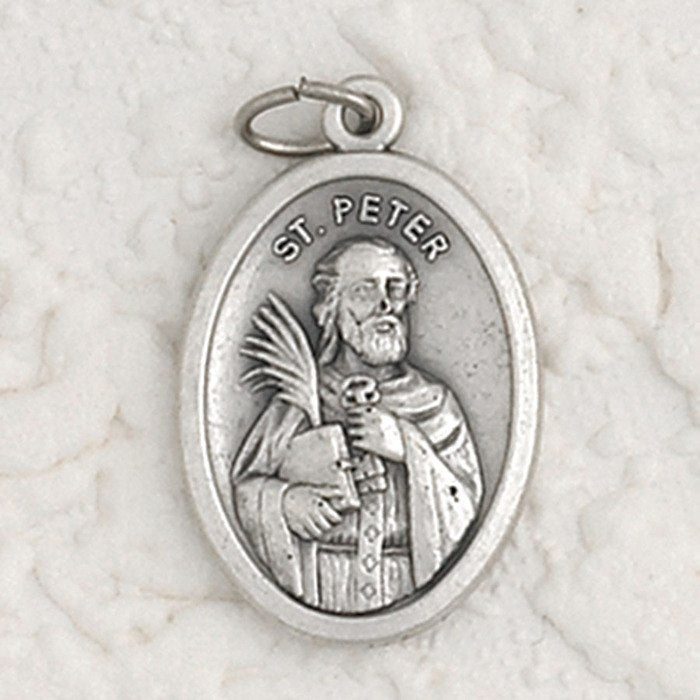 Saint Peter Pray for Us Medal - 4 Options