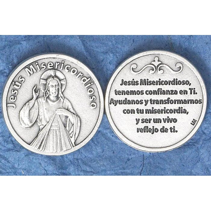 Spanish Token - Jesus Misericordioso