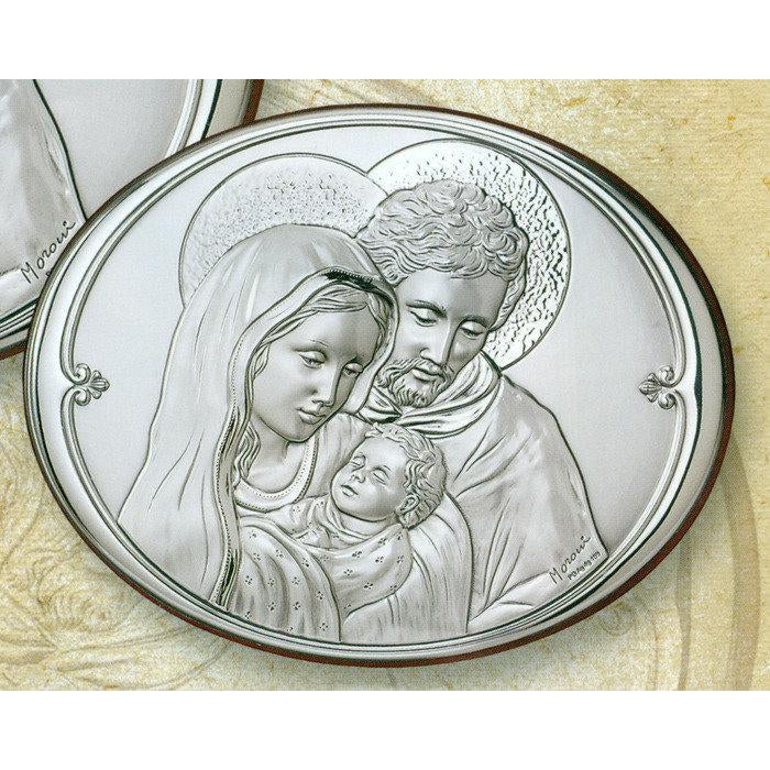 8 Inch Holy Family Sterling Silver