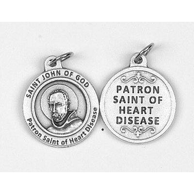 Healing Saints St John of God Medal - 4 Options