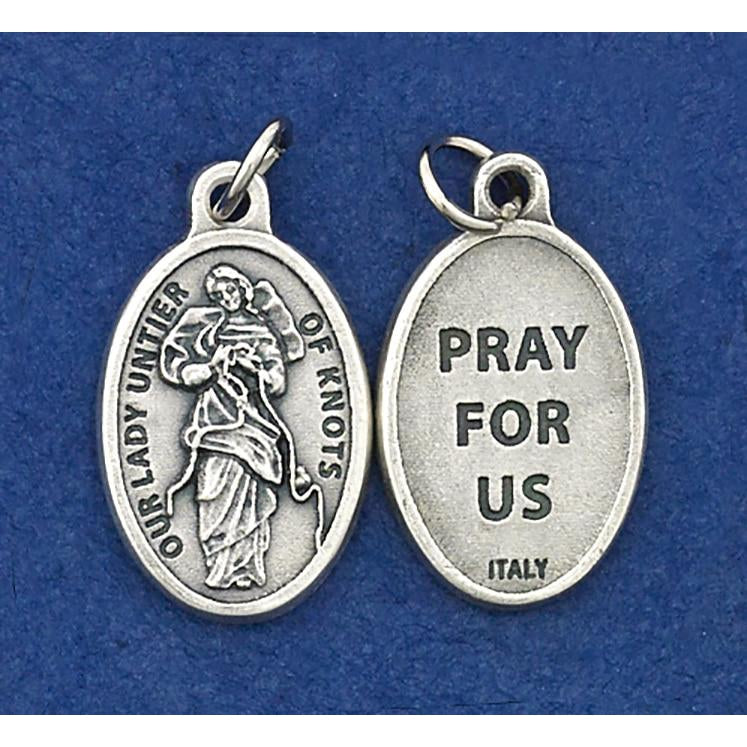 Lady Untier of Knots Pray for Us Medal - 4 Options