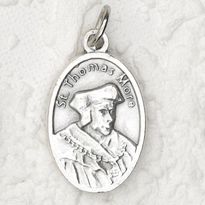 St. Thomas More Pray for Us Medal - 4 Options