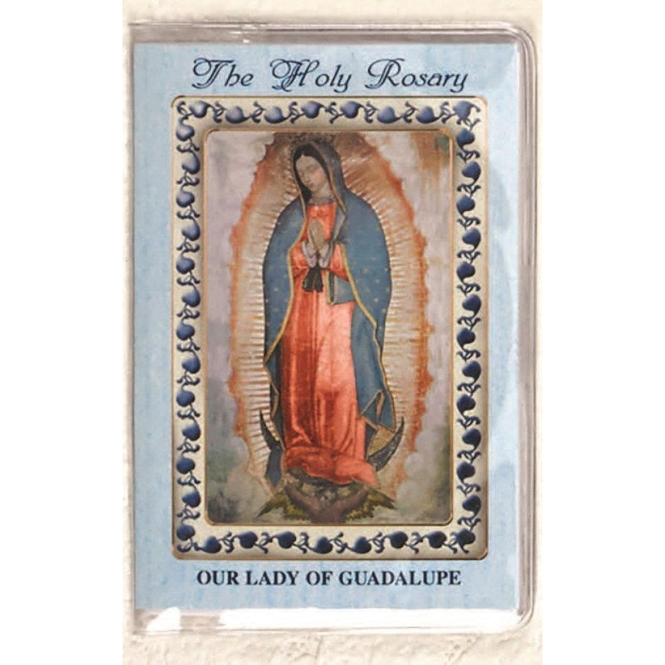 Lady of Guadalupe - How to Pray the Rosary Booklet
