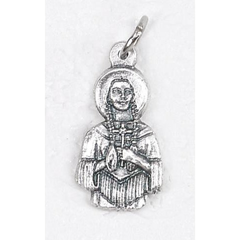 Saint Kateri Silhouette Medal - 4 Options