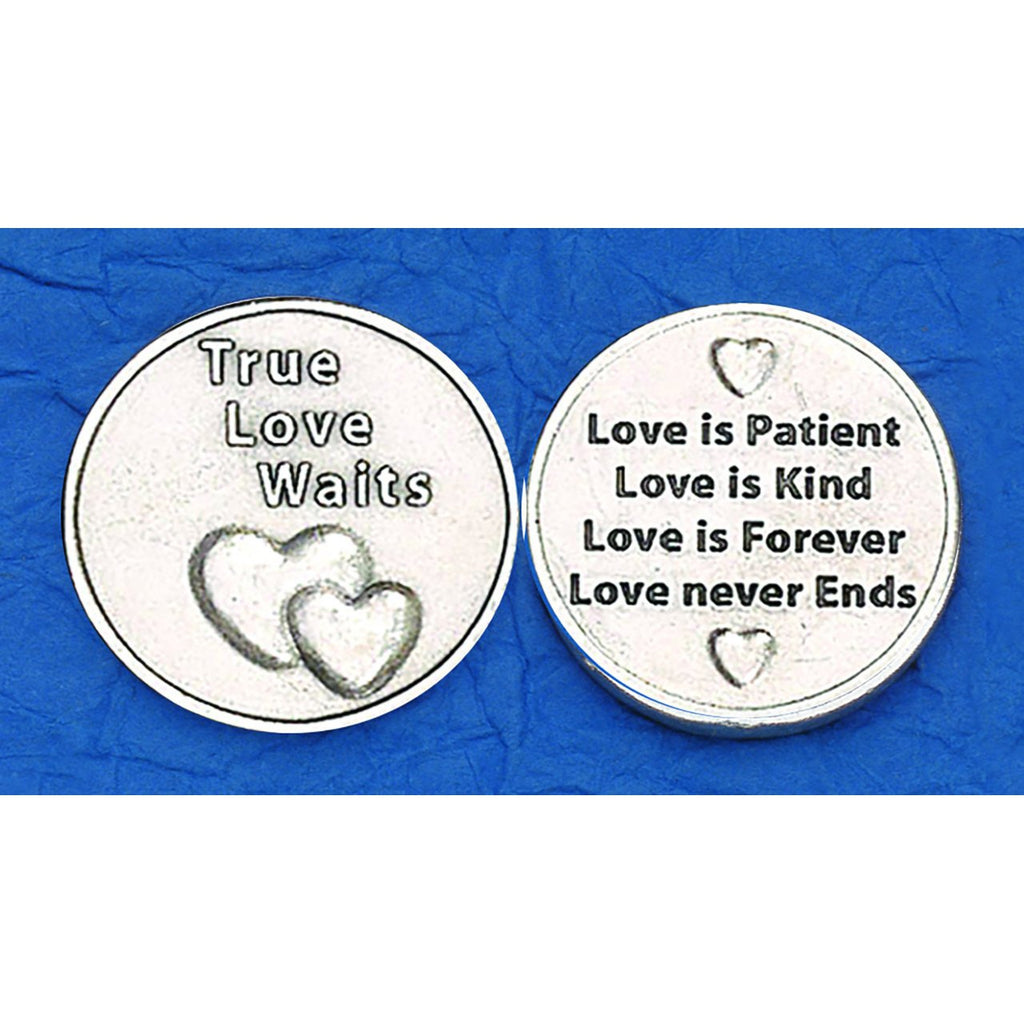 Italian Token - True Love Waits - Pack of 25