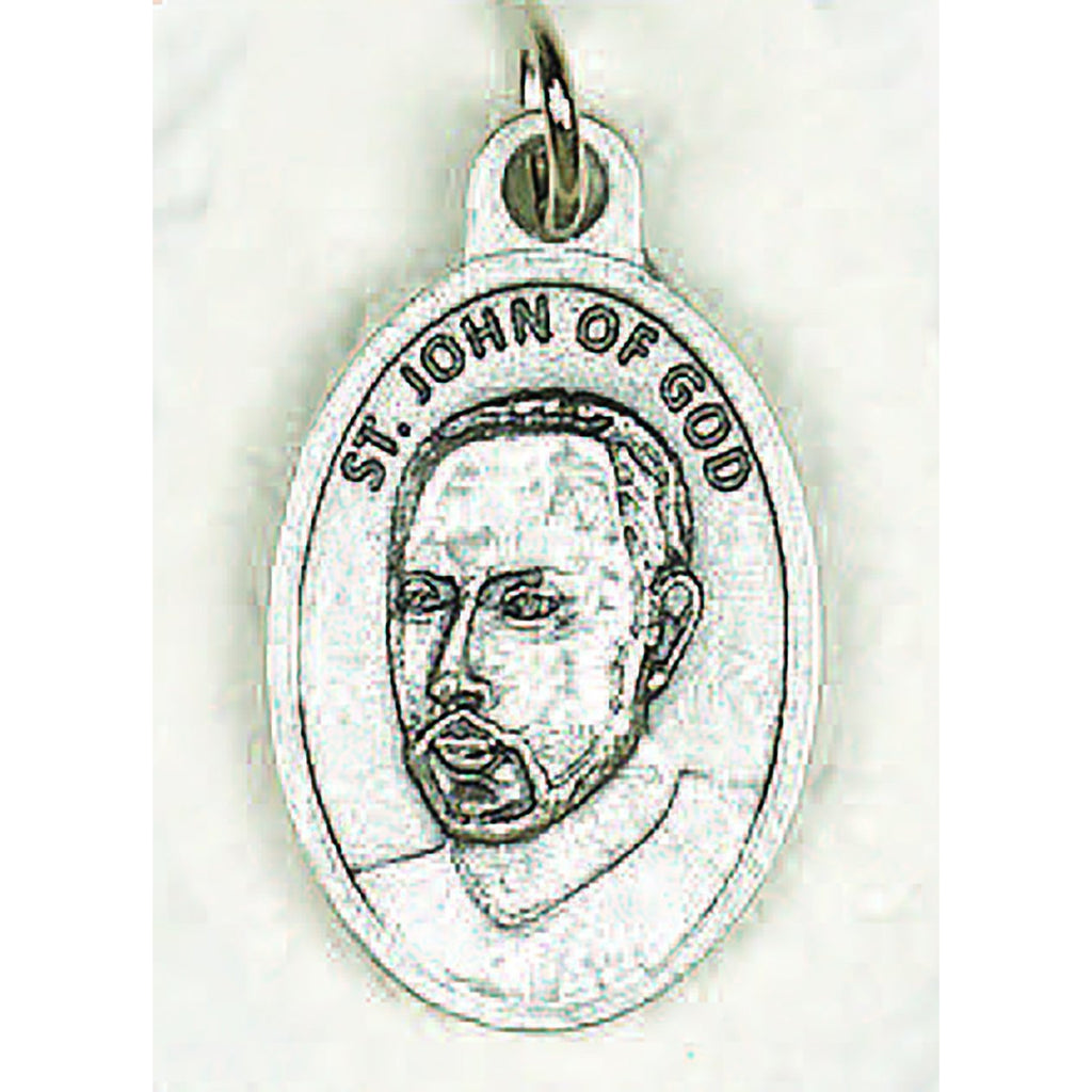 Saint John of God Pray for Us Medal - 4 Options