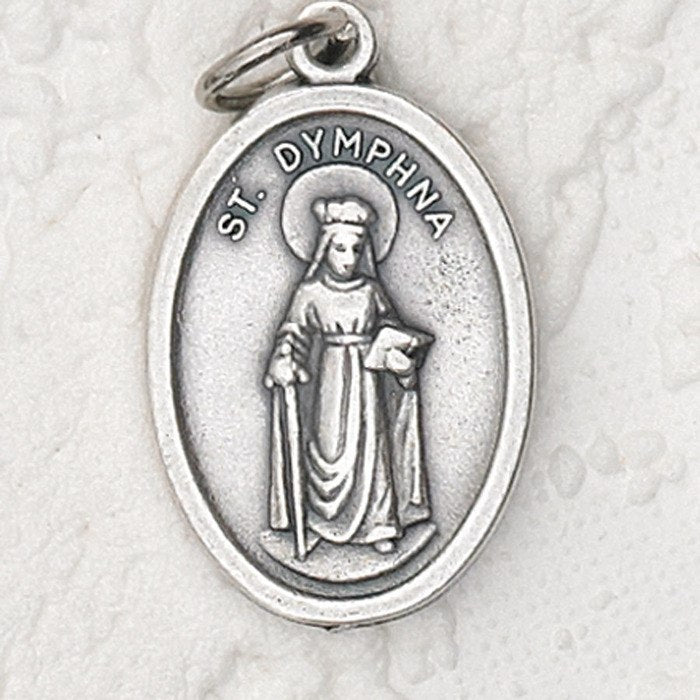 St Dymphna Pray for Us Medal - 4 Options