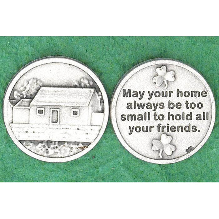 Irish token - May your home - Pack of 25