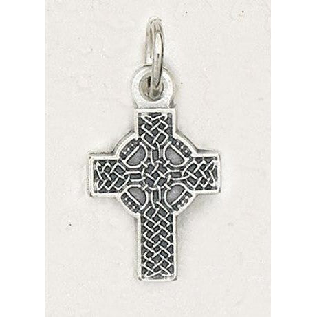 Celtic Silver Tone Bracelet Cross - Pack of 25