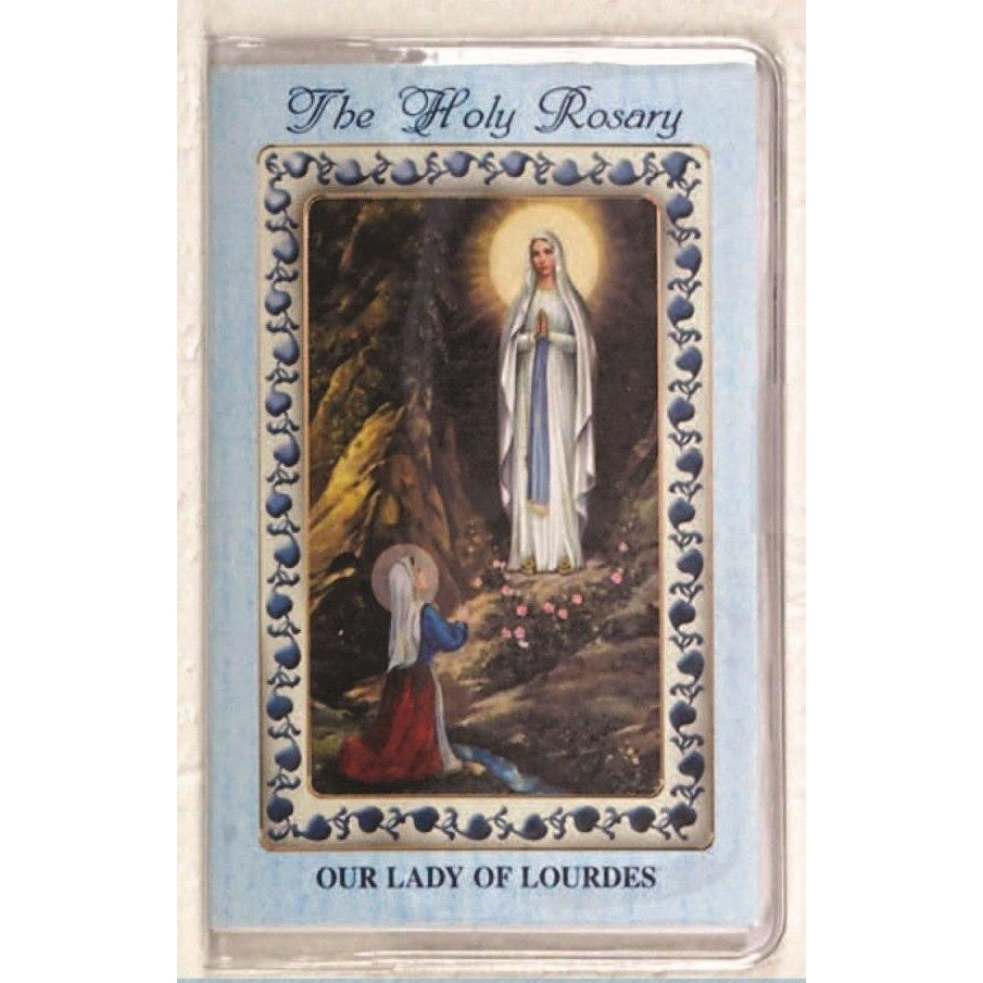 Lady of Lourdes - How to Pray the Rosary Booklet