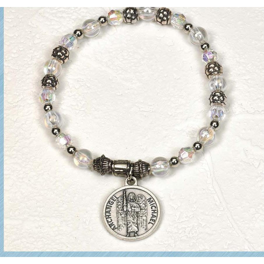 Archangel Michael - Italian Charm Bracelet - Pack of 4