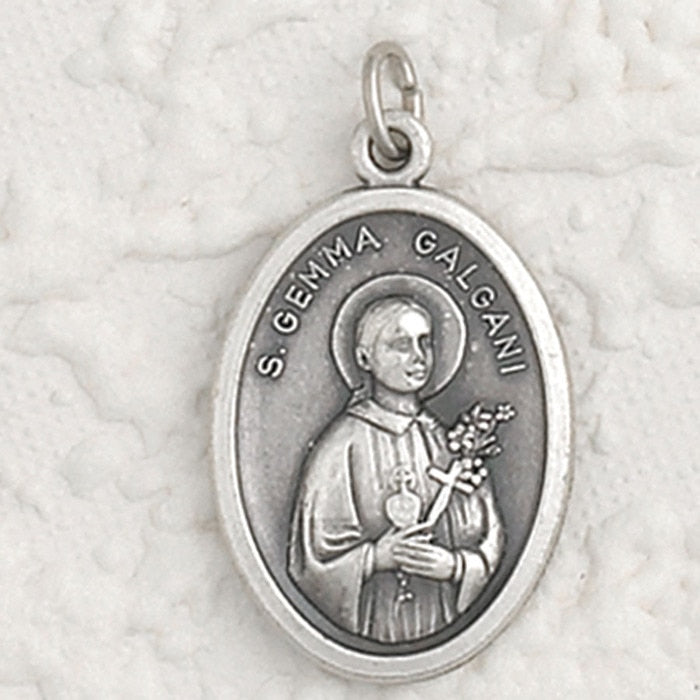 St Gemma Galgani Pray for Us Medal - 4 Options