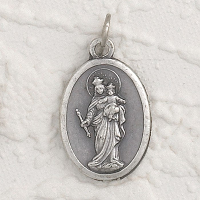 Mary Help of Christians Pray for Us Medal - 4 Options