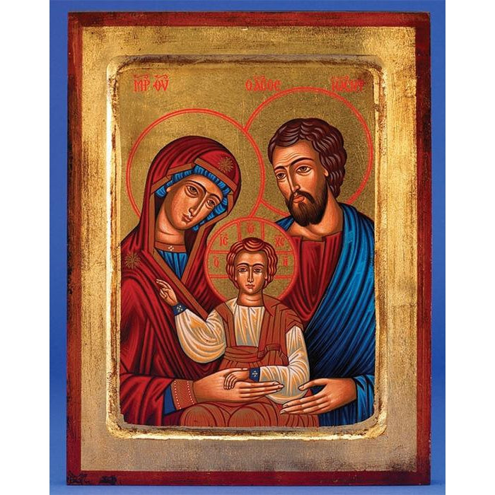 Holy Family - Gold Leaf - 3 Sizes