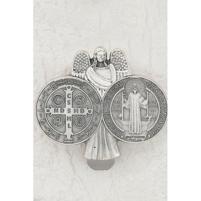 Saint Benedict - Guardian Angel - Visor Clip - Pack of 3