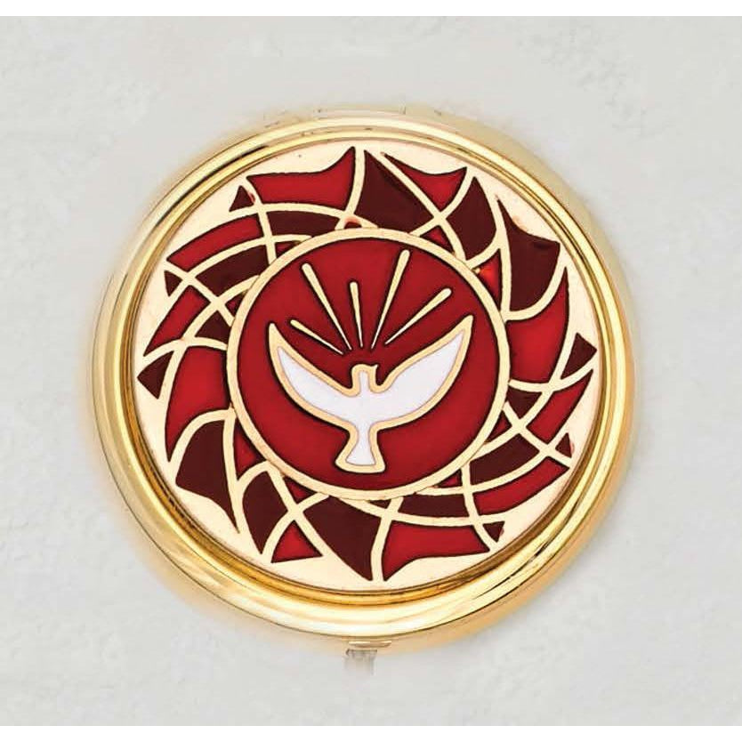 Holy Spirit - Pyx - Red Enamal