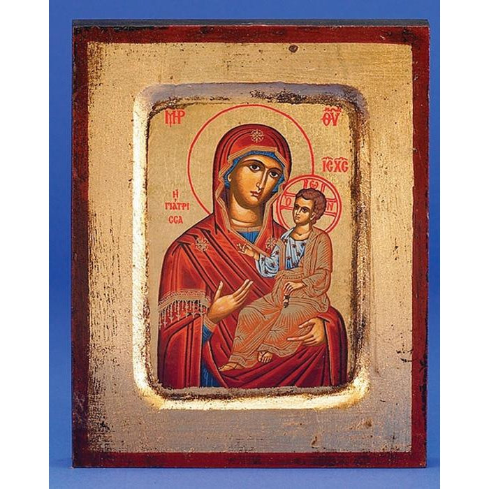 Virgin Mary of the Healing - Gold Leaf